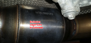Charger Emissions Colorado