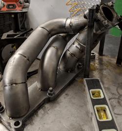 Miata turbo exhaust manifold
