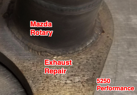 Mazda Rotary Exhaust Repair
