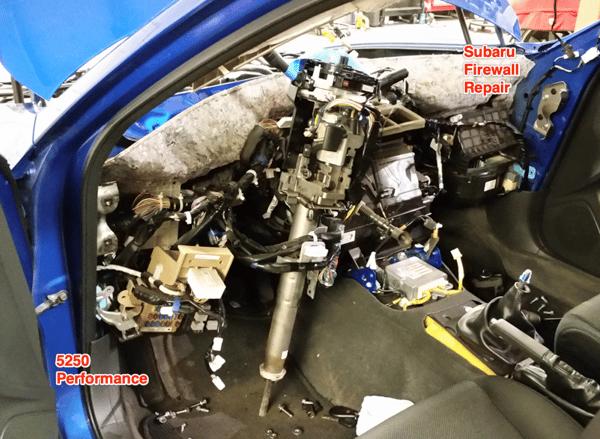 Subaru Firewall Repairs in Longmont Colorado