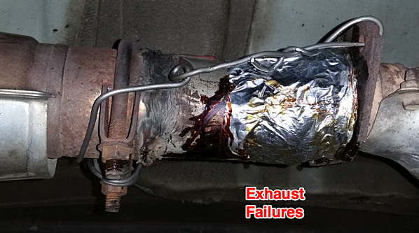 Exhaust Fabrication Failures