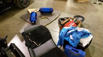 Subaru airbag system