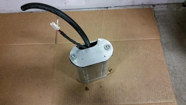 custom fuel internal tank