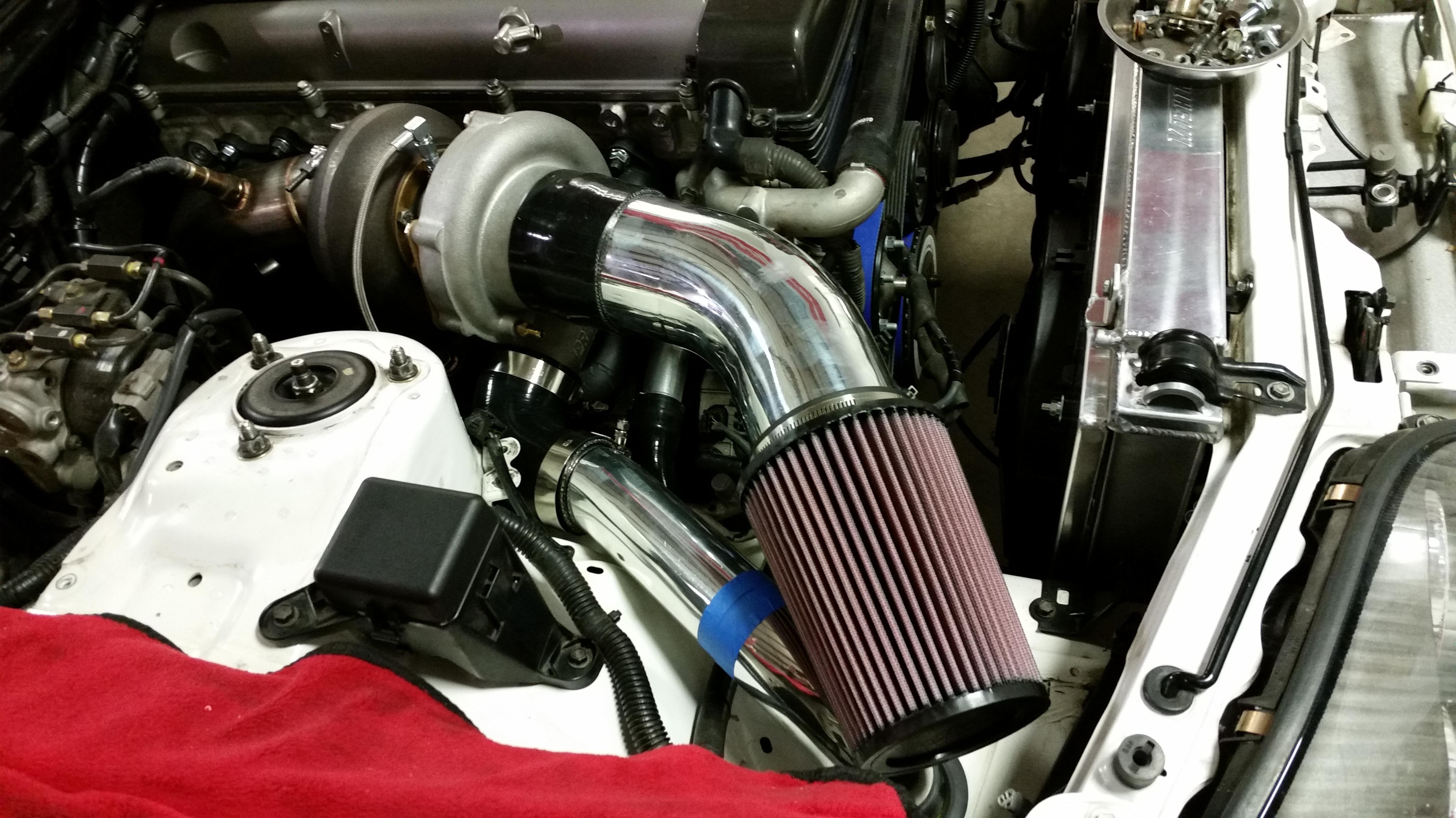 Supra Mk4 turbo build