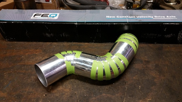 Fabrication services Turbo build