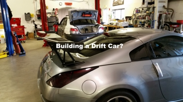 building a drift car