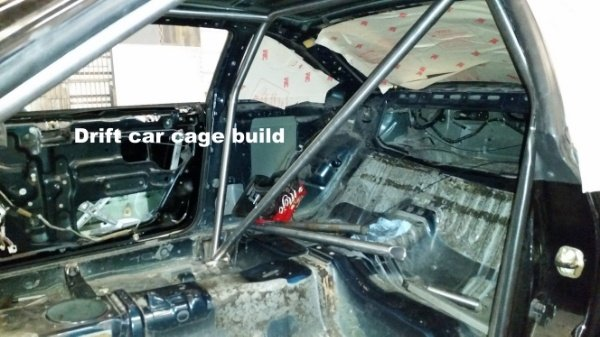 Drift cage build help