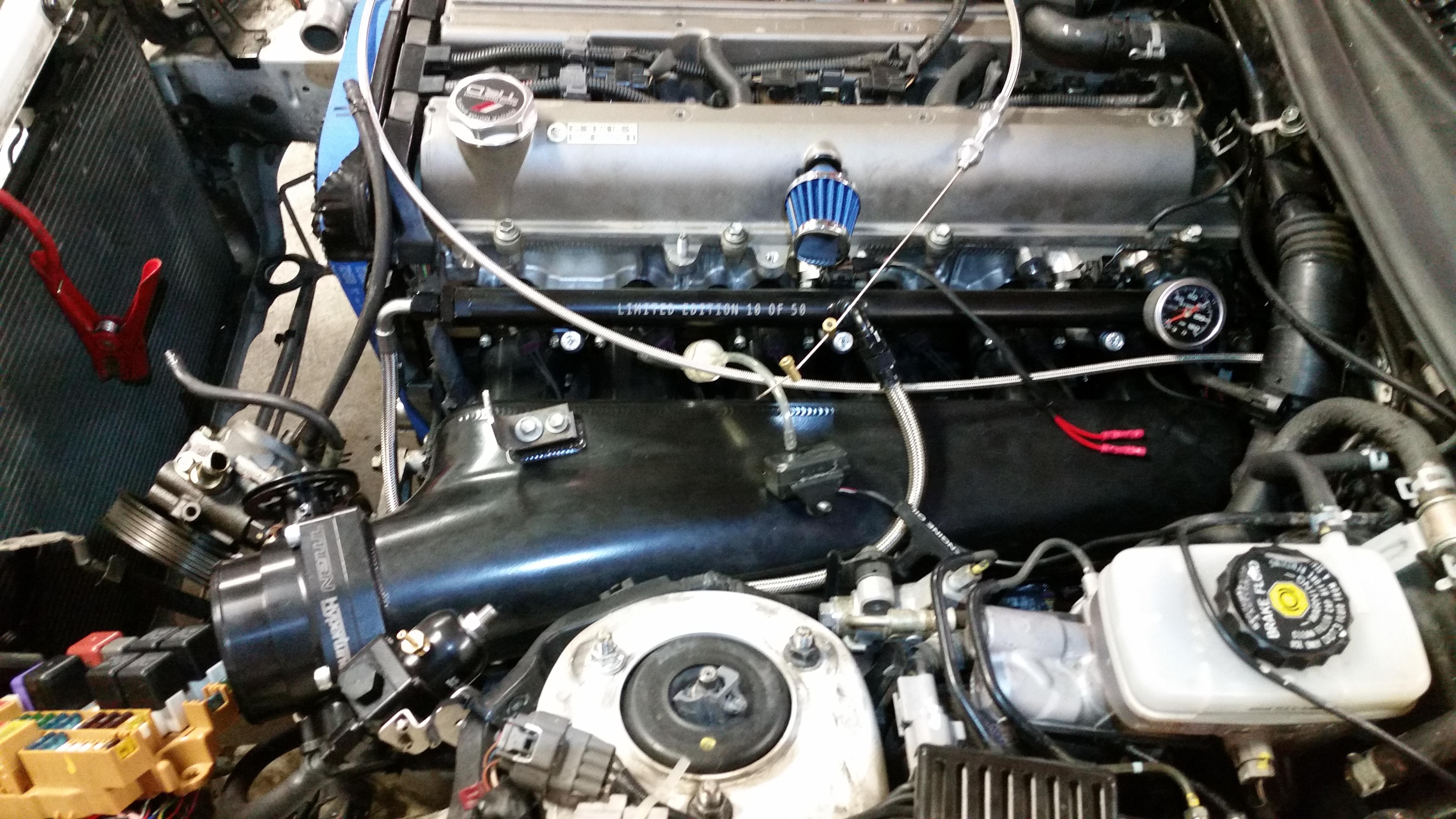 Supra turbo fabrication