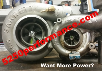 larger turbo install